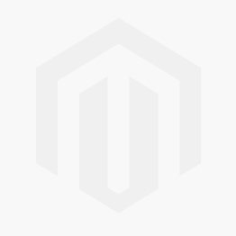 Delmar Created White Sapphire and Amethyst Triple Row Crossover Ring in Sterling Silver with Black Rhodium - Size 7