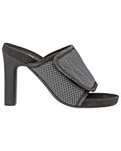 Adidas Yeezy Ladies Sandal Graphite 100 Sandal Slide Mesh Size 35