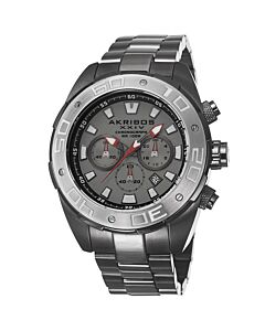 Men's Gunmetal Stainless Steel Grey Dial