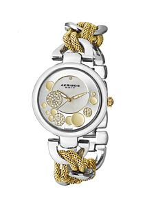 Women's Alloy Mother of pearl and Silver Tone Dial