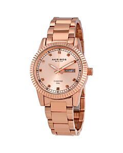 Women's Rose Gold-Tone Stainless Steel Rose Gold-Tone Dial