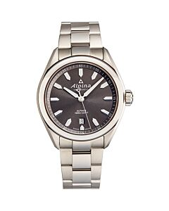 Mens-Stainless-Steel-Grey-Dial