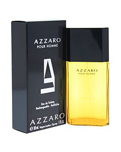 Azzaro Pour Homme / Azzaro EDT Spray Refillable 1.0 oz (30 ml) (m)