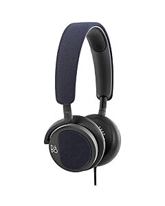 Bang and Olufsen BeoPlay H2 Headphones- Carbon Blue