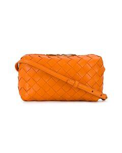 Bottega Veneta Orange Crossbody