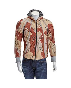 Christopher Raeburn Men's Camouflage Recycled Light-weight Hoodie Size Large