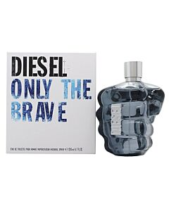 Diesel Men's Only The Brave EDT Spray 6.8 oz Fragrances 3605521806918