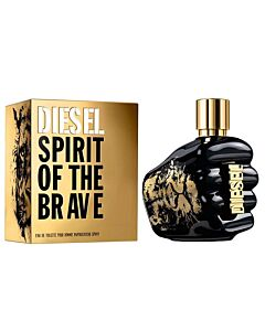 Diesel Men's Spirit Of The Brave EDT Spray 4.2 oz Fragrances 3614272631908