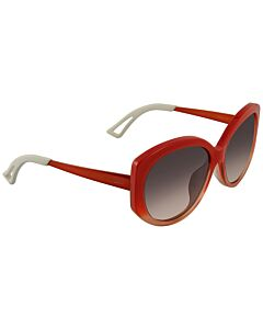 Dior 58 mm Orange Gradient Sunglasses