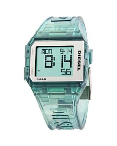 Women's Chopped Digital Polyurethane Digital (Positive Display) Dial Watch