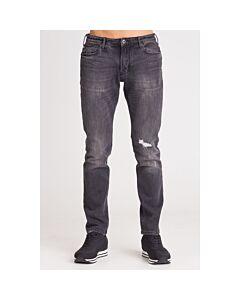 Emporio Armani Men's Jeans Gray J06 Slim Denim Size 38