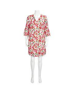 Essentiel Ladies Pink Sleeved Shirt Dress Size 36