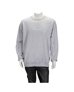 "F.A.M.T. Men's Gray Crew Neck ""I'M Not A"" Size Small"