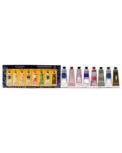 Fantastic 8 Hand Creams Kit by LOccitane for Unisex - 8 x 1 oz
