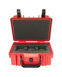 3 Slot Red Diver Watch Box