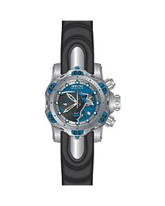 Men's NFL Chronograph Stainless Steel and Silicone and Aluminium Blue and Silver and Grey Dial Watch