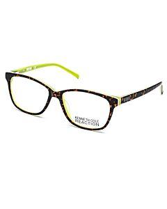 Kenneth Cole Reaction 53 mm Brown Eyeglass Frames