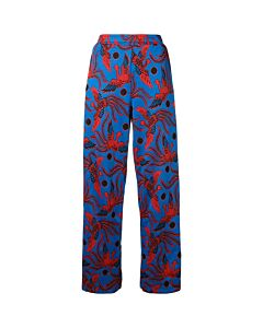 Kenzo Flying Phoenix Jacquard Trousers, Brand Size Large