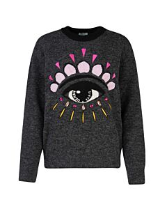 Kenzo Ladies 'Eye' Wool Jumper, Brand Size Medium
