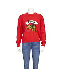 Kenzo Ladies Kenzo Jump Tiger Jumper Size Medium