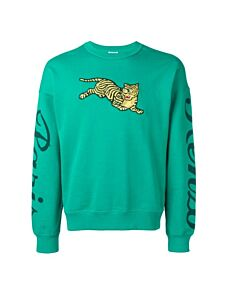Kenzo Men's Tiger Embroidered Sweatshirt, Brand Size Large