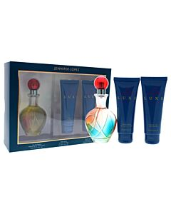 Live Luxe by Jennifer Lopez for Women - 3 Pc Gift Set 3.4oz EDP Spray, 2.5oz Shower Gel, 2.5oz Body Lotion