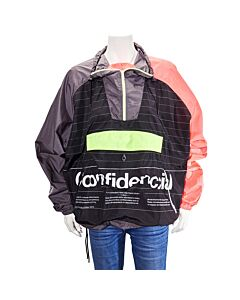 Marcelo Burlon Ladies Confidencial Hooded Pullover Jacket, Brand Size Small