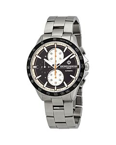 Mens-Clifton-Club-Chronograph-Stainless-Steel-Black-Dial