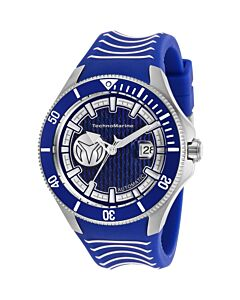 Men's Cruise Silicone Blue Dial