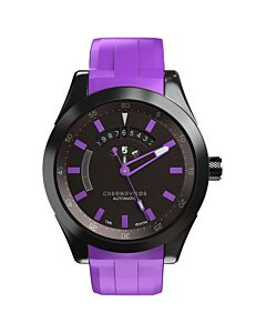 Men's Genesis Rubber Black Dial