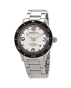 Mens-M02-4-Stainless-Steel-White-Dial