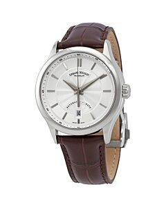 Mens-M02-Leather-Silver-Dial