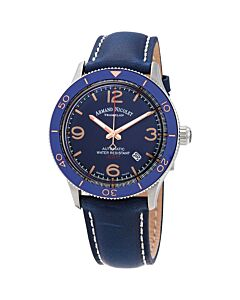Mens-MA2-Leather-Blue-Dial