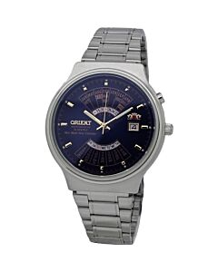 Men's Multi Year Stainless Steel Blue Dial