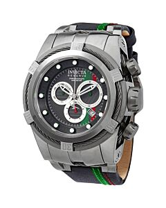 Mens-Reserve-Chronograph-Leather-and-Stainless-Steel-Black-Dial