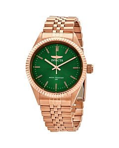 Mens-Specialty-Stainless-Steel-Green-Dial