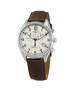 Mens-The-Waterbury-Chronograph-Leather-Beige-Dial-Watch