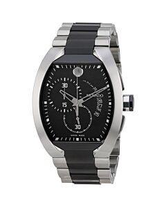 Men's Verto Stainless Steel Black Dial