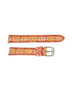 Michele Pink / Yellow Watch Band