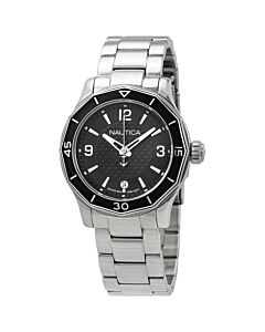 Women's NSW 01 Stainless Steel Black Dial