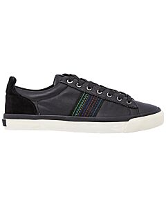 Paul Smith Leather Seppo Trainers- Black/ Size 6