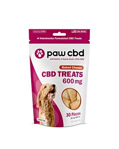 Paw Cbd / Baked Cheese Dog Treats 30 Pieces 600 Mg- 20 Mg Each