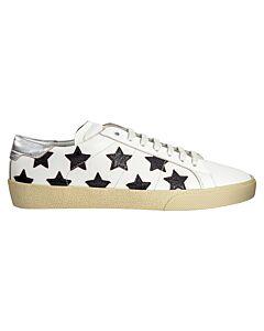Saint Laurent Court Classic SL Low-Top Sneakers- Size 41.5