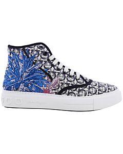 Salvatore Ferragamo Men's Borg Sneakers, Brand Size 8