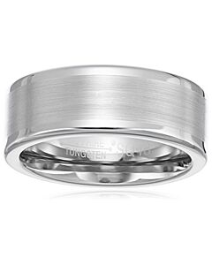 Sapphire Tungstem Ring With Diamond Finishing 8mm No.10.5