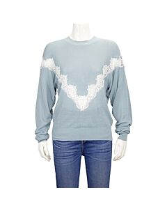 See By Chloe Ladies V Lace On Chest Po, Brand Size Medium