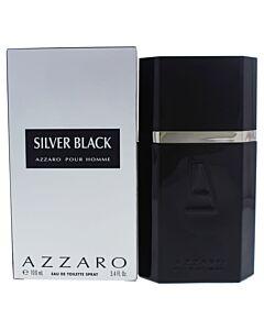 Silver Black by Azzaro EDT Spray 3.3 oz (m)