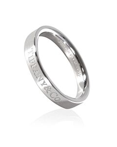 Tiffany Unisex Tiffany & Co Platinum Band Ring, Brand Size 9