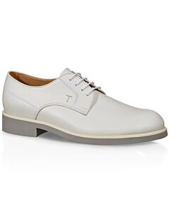Tods Men's Lace-Up Shoes- White, Size 5