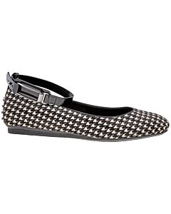 Tods Women's Shoes-White/ Black/  Size 40